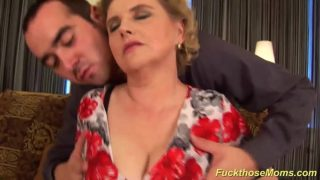 Chubby Hirsute Mother Recieves Crazy Fucked