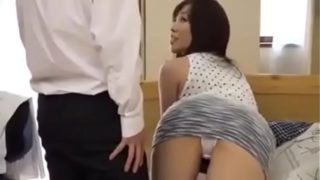 Lustful Chinese Pal's Mother Gets Fucked Even If Here Son Is There