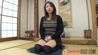 Japanese Milf Amateur Gets Hairy Pov Sex and Cream Pie